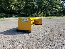 6' Low Pro pullback snow pusher Local Pick Up skidsteer Bobcat Case Caterpillar
