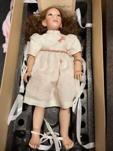 Annette Himstedt Porzellan Puppe Blanda 70 cm. Ltd. 49/90. Top Zustand