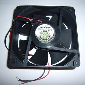 "Heavy Duty 4.7"" 12 Volt Car Audio Amplifier Cooling Fan Electronics Amps"