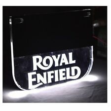 Universal Number Plate With White LED light For Royal Enfield