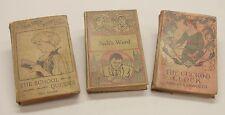 3 Antique Books:  Jack's Ward, The School Queens, The Cuckoo Clock.  H. Alger, J