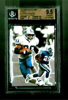 BGS 9.5 1/1 TOPPS VAULT PROOF BLANK BACK 1999 GOLD LABEL CLASS 2 BARRY SANDERS