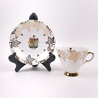 Canada Windsor Made in England Bone China Tea Cup & Saucer