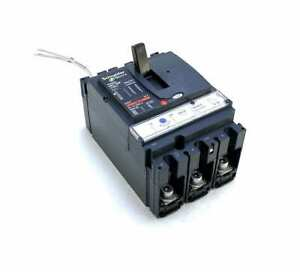 Schneider Electric NSX160F 3 Pole 160 Amp 600 Vac Compact Breaker