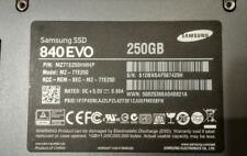 """High End Samsung 840 EVO 250 GB 2.5"""" Solid State Drive SSD"""