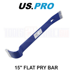 """US PRO Tools 15"""" Flat Nail Pry Bar Utility Puller Crowbar Floorboards Puller"""