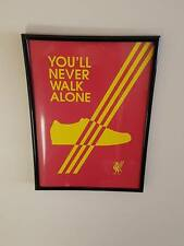 Adidas Casuals Liverpool A4 Framed Poster 260gsm