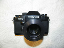 Contax RTS Camera Yashica Japan Zweiss West Germany Lens