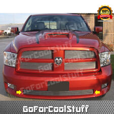 For 2009 2010 2011 2012 Dodge Ram 1500 Sport Bumper Billet Grille Polished