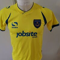 maillot  de football PORTSMOUTH  taille 10/12  ANS SONDICO foot