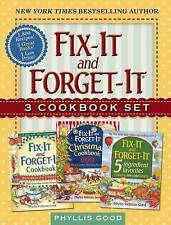 NEW Fix-It and Forget-It Box Set: 3 Slow Cooker Classics in 1 Deluxe Gift Set