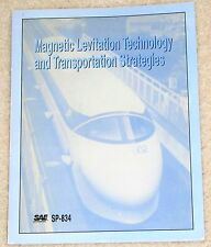 Magnetic Levitation Technology Transportation SAE Technical Papers 8/1990