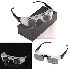 Focusable Fishing Binocular Telescope Magnifier Polarized Glasses 4x Len