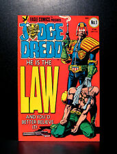 COMICS: Eagle Comics: Judge Dredd #1 (1983), 1st Judge Dredd (US) app - RARE