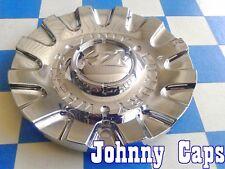 ZINIK Wheels [31] CHROME Center Cap # ZINIK CAROZA-B Custom Wheel Center Cap (1)