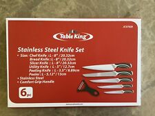 Table King Stainless Steel Knife Set