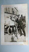 Photo ancienne cyclisme circa 1903 /course de vélo.