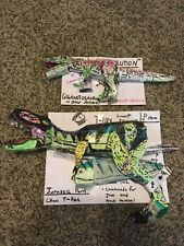 Jurassic Park Chaos Effect Thrasher T-Rex And Giganotosaurus Custom Set Lot