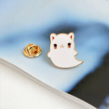 Denim Jacket Jewelry Pin jian Lovely Cat Metal Badge Brooch Button