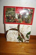 Lenox Brand Christmas Nouveau Holiday Table Cloth Oblong 60x104