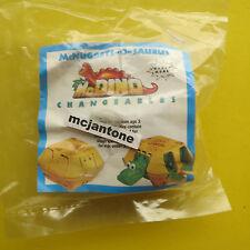 MIP McDonald's 1991 McDino Changeables CHICKEN McNUGGETS Dinosaur TRANSFORMER