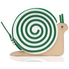 KATE SPADE Turn Over A New Leaf Snail Coin Purse WLRU2459 SOLD OUT NWT