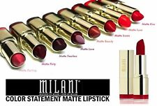 Milani Color Statement Moisture Matte Lipstick 0.14oz CHOOSE FROM ALL 24 COLORS