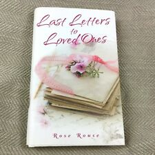Last Letters to Loved Ones Book Grief Mourning Bereavement Hardback