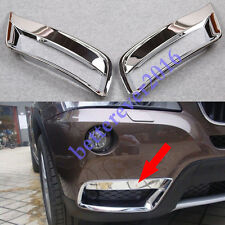 for BMW X3 F25 2011-2014 Chrome Front Bottom Fog Light Lamp Cover Trim Garnish
