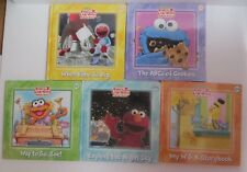 Sesame Street Books Elmo's Learning Adventure Activity Flash Cards Set of 5 NEW