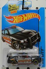 HWPD POLICE CHARGER DRIFT CITY 48 BLACK 822 2014 DODGE BOYS MOPAR HW HOT WHEELS
