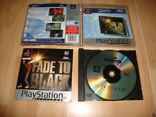 FADE TO BLACK DE EA GAMES PARA LA SONY PLAY STATION 1 PS1 USADO COMPLETO
