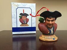 Disney Treasure Island Limited Edition LE Sketchbook Ornament  2015 NEW