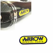 3D Motocycle ARROW Emblem Sticker Exhaust Pipe Heat Resistant Aluminum Badge