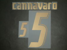 CANNAVARO NOME+NUMERO UFFICIALE ITALY HOME NAMESET 2006-2007 PLAYERS SIZE