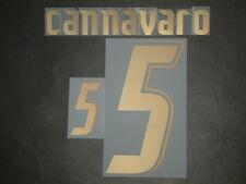 CANNAVARO NOME+NUMERO UFFICIALE ITALY HOME NAMESET 2006-2007 PLAYERS SIZE