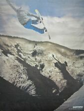 BURTON snowboards 2012 KELLY CLARK 2 sided promo poster ~NEW & MINT condition~!