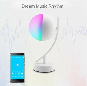 Wifi Dimmable 550 Lumens RGB Smart Life APP WiFi Night Light Table Lamp for Home
