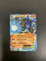 Lucario EX - Pokemon Card - Furious Fists 54/111 - Ultra Rare Holo - LP