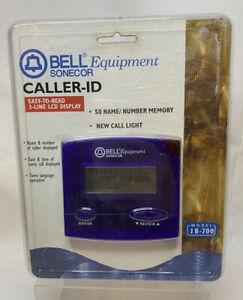 Bell Sonecor Caller ID JB-700PL 50 Names 3 Line LCD New Sealed Retro