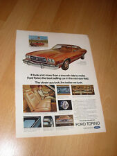 1973 74 Ford Gran Torino Vintage Advertisement Magazine Ad FREE SHIPPING
