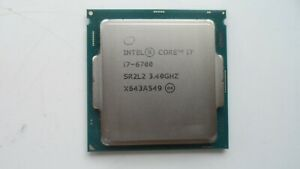 INTEL CORE I7-6700 3.40GHz QUAD CORE SR2L2 LGA 1151 CPU
