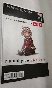 ASTONISHING ANT MAN # 1 MARK BROOKS HIP HOP VARIANT UNREAD NM- Notorious B.I.G.