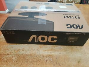 "AOC 931Swl 18.5"" Widescreen LCD Monitor ~ Resolution: 1366 x 768 ~ NEW"
