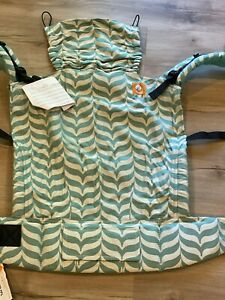 Tula Toddler Migaloo Zen Half WC BRAND NEW WITH TAGS with Turquoise Canvas