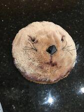 MONTEREY BAY AQUARIUM Stuffed Plush Sea Otter Carry Overnight Pillow purse bag