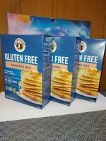 King Aurthur Gluten Free Pancake Mix, 15 Ounces 3 Boxes