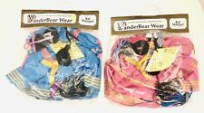 1991 Lot Of 2 Vanderbear Wear Bal Masque Outfits Girl And Boy New Sealed!