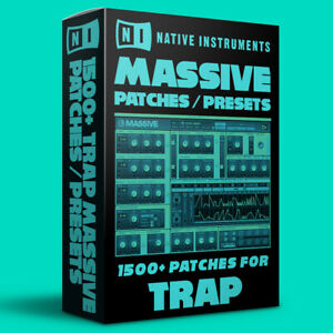 1500+ TRAP Patches / Presets for Native Instruments Massive