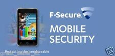 F-Secure Mobile Security 1 year 1 USER Smartphone (by eBay Message or e-mail)